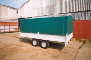 Scout Equipment Trailer